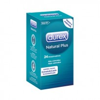 Durex Natural Plus 24 Uds