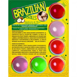 Secret Play Set 6 Brazilian Balls Aromas