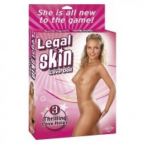 Legal Skin Muñeca Hinchable