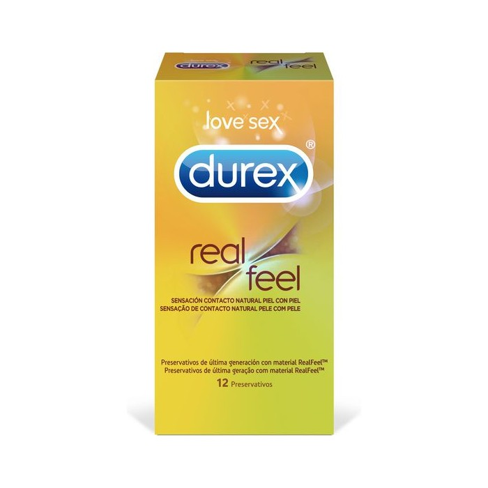 Durex Sensitivo Real Feel 12 Uds