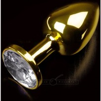 Plug Anal Jewellery Small Oro / Diamante